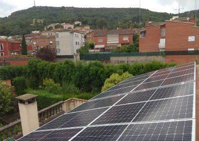 Instal·lació fotovoltaica per autoconsum residencial